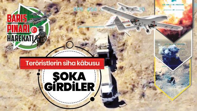 SİHA vuruyor Mehmetçik ilerliyor