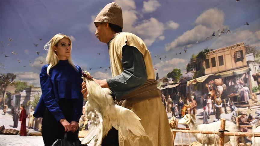 Bu müze ziyaretçilerini 13. yüzyıla götürüyor