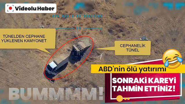 Havan atışlarıyla sivil yerleşim yerlerimizi hedef alan bebek katili PKK/PYD'li teröristler böyle vuruldu!
