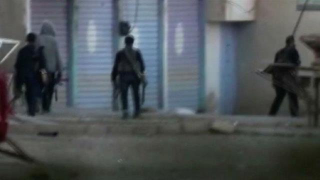 Son dakika: Resulayn'daki teröristlerin çekilme anları böyle görüntülendi