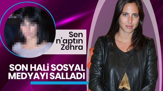 Zehra Çilingiroğlu son haliyle sosyal medyaya damga vurdu