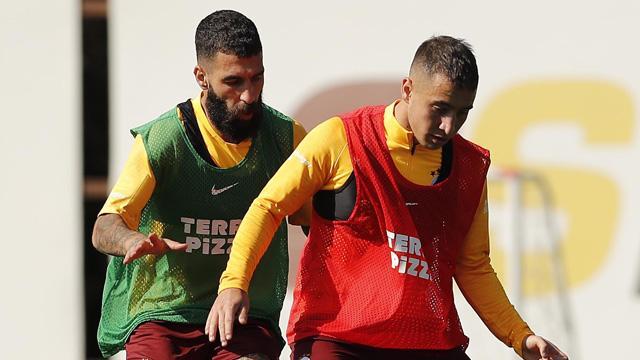 Galatasaray dayanıklılık ve kuvvet çalıştı