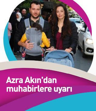 Azra Akın'dan muhabirlere uyarı