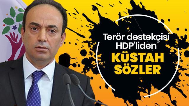 Terör destekçisi HDP'li Baydemir'den Erdoğan ve Türkiye'ye küstah sözler