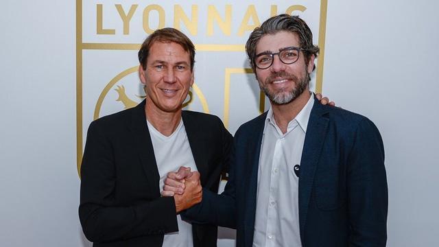 Olympique Lyon, Sylvinho'nun yerine teknik direktörlük koltuğuna Rudi Garcia'yı getirdi