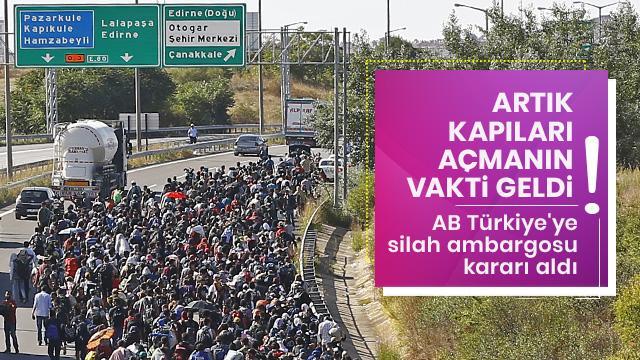 Avrupa Birliği, Türkiye'ye silah ambargosu kararı aldı