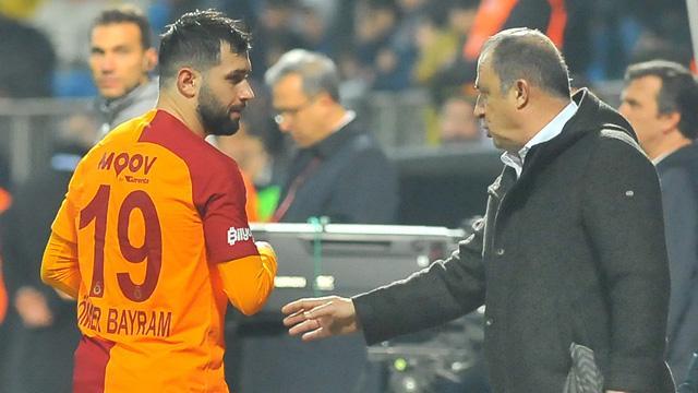 Fatih Terim, Sivasspor maçında Ömer Bayram'ı 10 numara pozisyonunda görevlendirecek