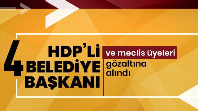 HDP'ye peş peşe operasyon!