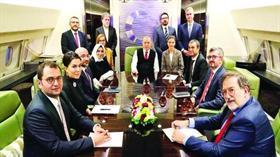 Başkan Erdoğan'ın Azerbaycan Ziyareti Dönüşünde açıklama yaptı: Şimdi beş devlet bir millet olduk