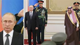 Suudi bandosundan Rusya milli marşı remiksi! Putin şoke oldu!