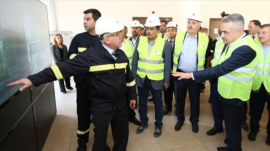 TBMM KİT Komisyonu üyeleri Aksaray'da