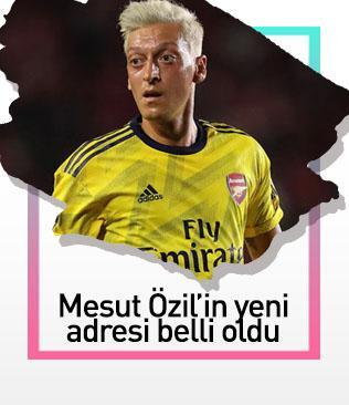 Mesut Özil'in yeni adresi belli oldu