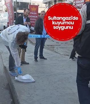Sultangazi'de kuyumcu soygunu