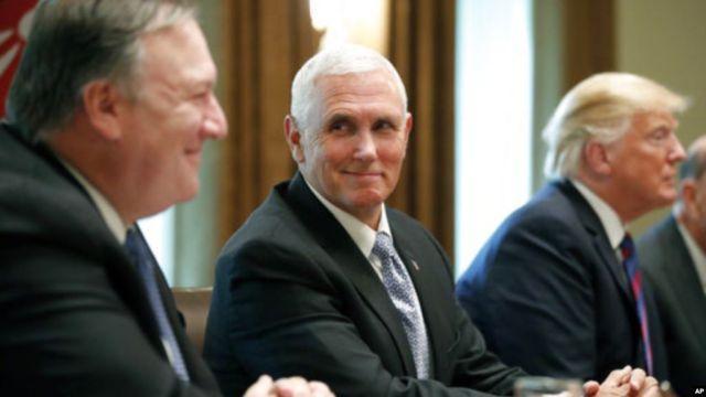 Trump: Pence ve Pompeo yarın Türkiye'ye gidecek