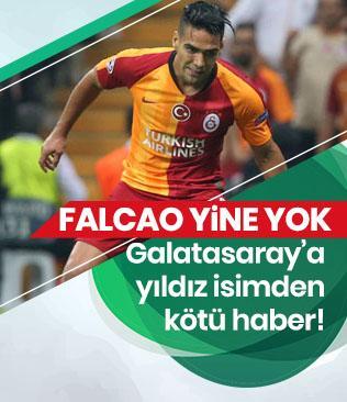 Radamel Falcao bu hafta da forma giyemeyecek