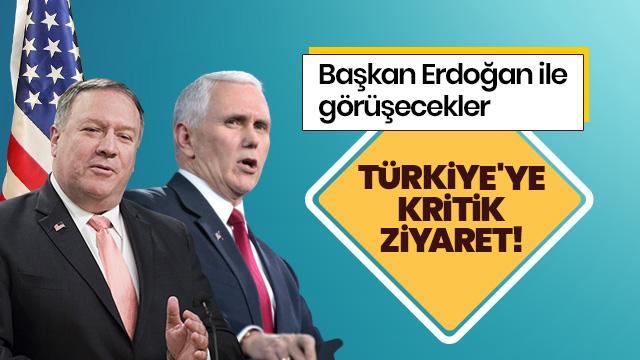 Trump: Pence ve Pompeo Türkiye'ye gidecek