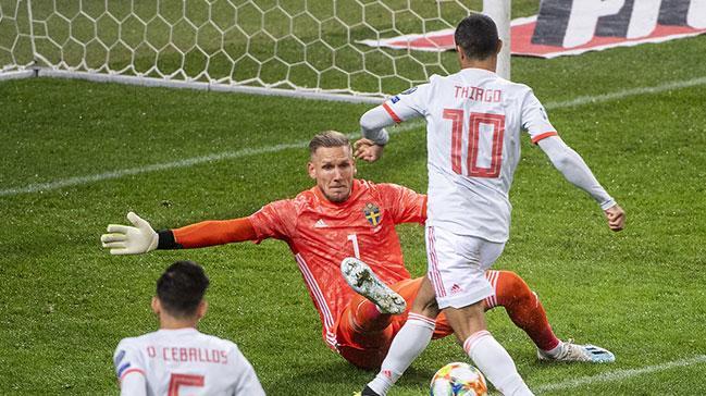 İspanya, EURO 2020'ye gitmeyi garantiledi