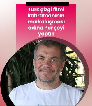 Karikatürist ve yazar Yaşaroğlu: Türk çizgi filmi kahramanının markalaşması adına her şeyi yaptık