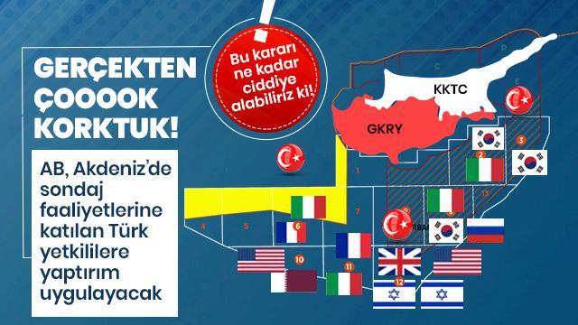 AB'nin asıl dertleri belli oldu: Doğu Akdeniz!
