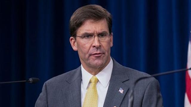 ABD Savunma Bakanı Mark Esper NATO'ya Türkiye için baskı yapacak