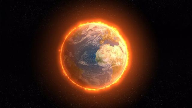 """""""Dünyanın sıcaklığı ortalama 0,9 derece arttı"""""""