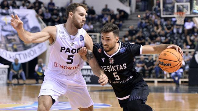 Beşiktaş Sompo Sigorta deplasmanda PAOK'u mağlup etti
