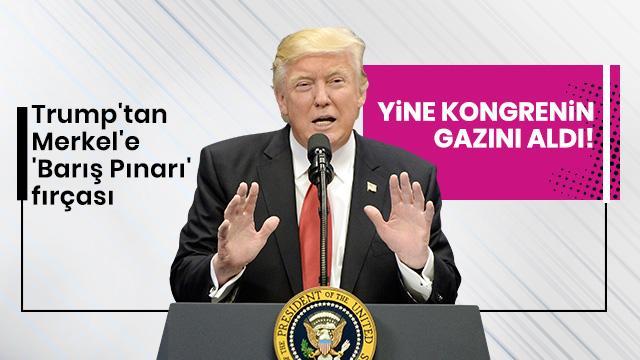 Trump'tan yaptırım açıklaması!