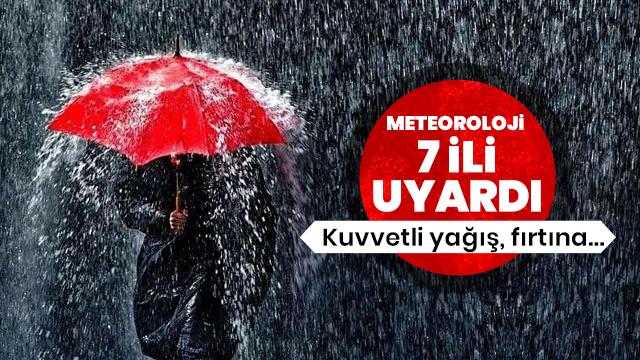 Meteoroloji'den son dakika yağmur ve hava durumu uyarısı! Bugün hava nasıl olacak?