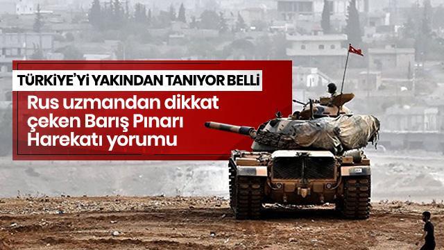 Rus askeri uzman'dan dikkat çeken Suriye yorumu: PKK/YPG-PYD Türkiye'ye karşı koyamaz