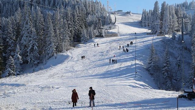 Ilgaz Dağı yeni kayak sezonuna hazırlanıyor
