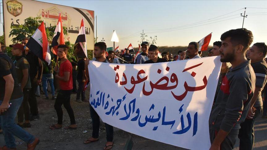 Kerküklüler, güvenliği sağlayan özel güçlerin kentten çekilmesine tepkili