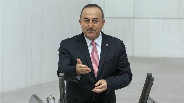 Dışişleri Bakanı Çavuşoğlu: Harekata tepki gösterenlerin amacı burada bir terör devleti kurmak
