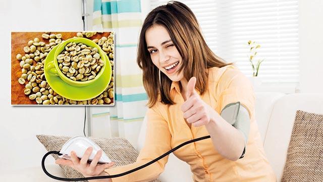 Tansiyona doğal çare yeşil kahve