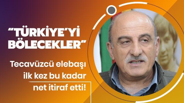 Tecavüzcü elebaşı itiraf etti: Türkiye'yi bölecekler