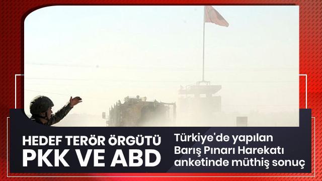Türkiye'de Barış Pınarı Harekatı anketi!
