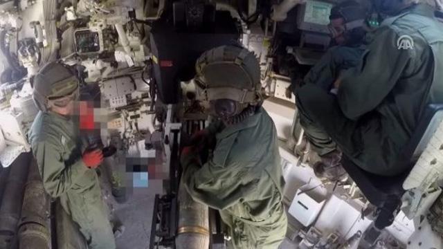 Rasulayn kırsalındaki terör hedefleri obüs atışlarıyla vurulmaya devam ediliyor