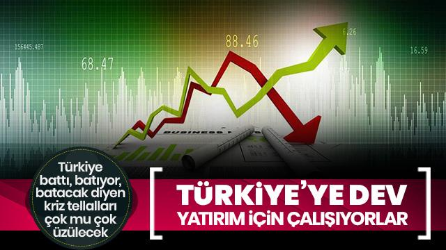 Türkiye'ye büyük yatırım: 160 milyon sterlin yatırım yapıyoruz