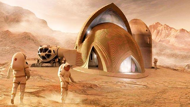 """Mars'ta yaşam var ama saklıyorlar"""