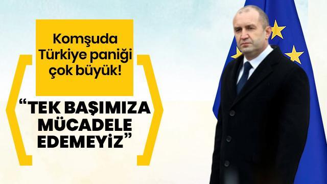 Türkiye endişesi çok büyük: Tek başımıza mücadele edemeyiz!