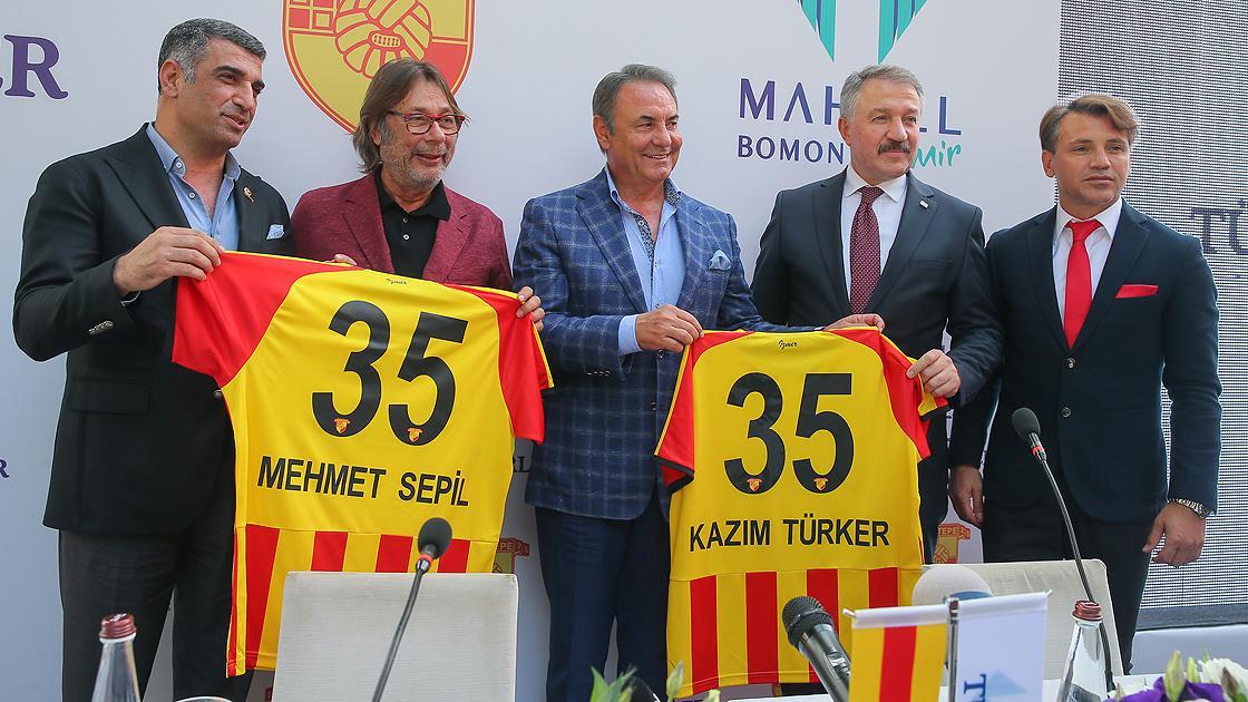 Göztepe'den Türkerler Holding ile sponsorluk anlaşması