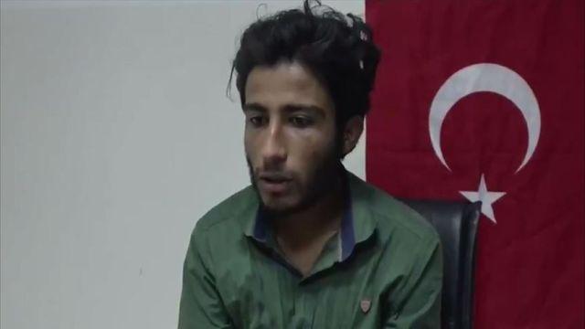Teslim olan PKK/YPG'li terörist, Türkiye'den özür diledi