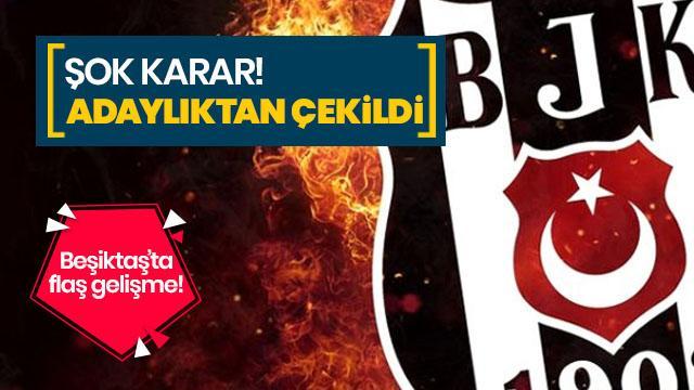Beşiktaş başkan adayı İsmail Ünal adaylıktan çekildi