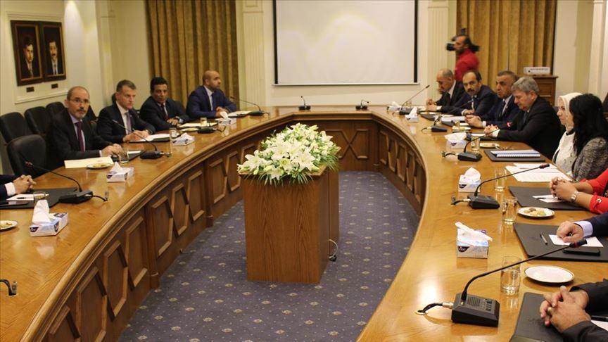 """Ürdün'ü ziyaret eden Türk heyeti """"bölgesel gelişmeleri ve ikili ilişkileri"""" görüştü"""