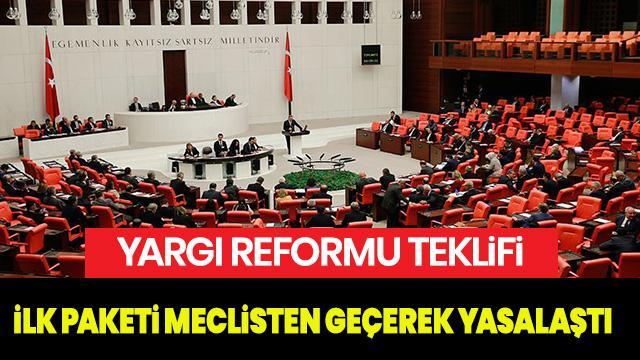 Yargı Reformu meclisten geçti mi? 2. Yargı Paketi ne zaman meclise gelecek?