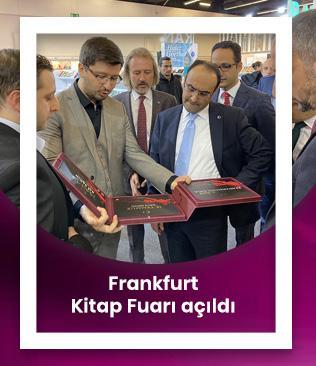 Frankfurt Kitap Fuarı açıldı