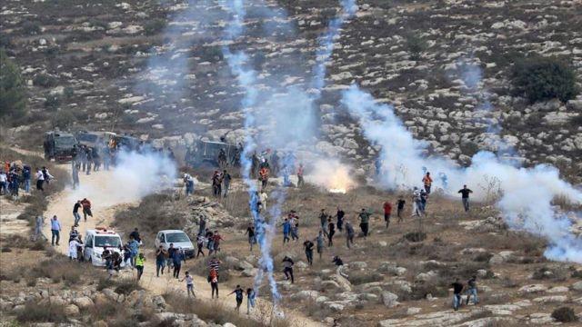 İsrail askerlerinden Batı Şeria'daki gösteriye müdahale: 6 yaralı