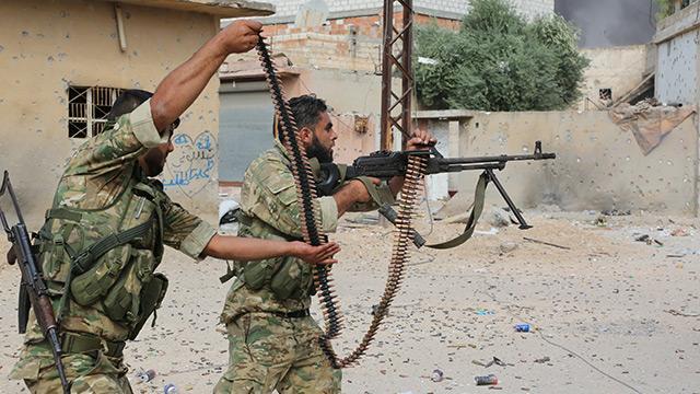 Barış Pınarı Harekatı 9. gününde! İşte Suriyeli yiğitler