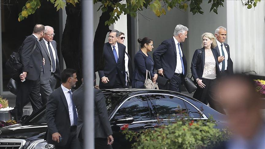 ABD Başkan Yardımcısı Mike Pence ve Dışişleri Bakanı Mike Pompeo Ankara'ya geldi