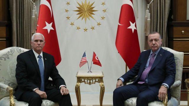 ABD Başkan Yardımcısı Pence: ABD ile Türkiye anlaştı