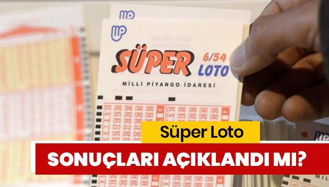 Süper Loto sonuçları ne zaman saat kaçta açıklanacak? Süper Loto ikramiye tutarı ne kadar?
